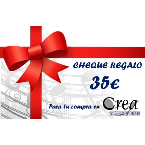 Cheque Regalo - Crea Música y Arte